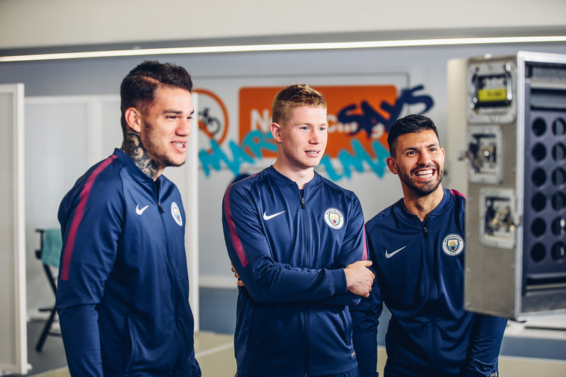 Manchester City Player appearance Day - Wix Photoshoot