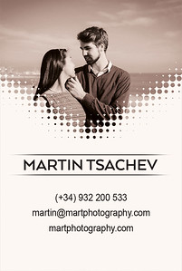 business cards portrait red front srgb