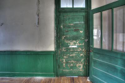MCHS - Library door.