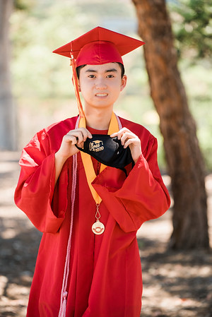 Cap & Gown on 06/09/2020