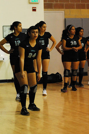 Girls' Playoff Volleyball vs. Jordan High
