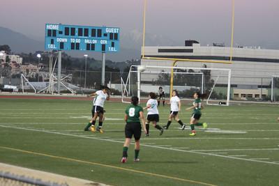 MC Vs. Belmont Girls Soccer