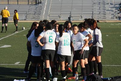 Var Girls Soccer - MCLC vs. Belmont 1.17.13