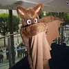 MCM Manchester Comic Con 2016, Cosplay, Cosplayer, Male, Furr Fandom, Bat, Wings, Furr Suit, Brown, Black, White