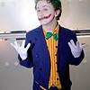 Arkham Asylum, Arkham City, Arkham Knight, Bang, Bang Flag Gun, Batman, Black, BorderFX, Bow Tie, Buttons, Comics, Cosplayer, DC, DC Comics, Gloves, Green, Gun, Jacket, Joker, Male, Orange, Yellow,  Pants, Pin Stripes, Purple, Red, Manchester Film & Comic Con 2016, Shirt, Shoes, Suit, The Joker, White, Yellow, Walking Cane, Suicide Squad