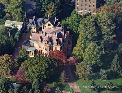 Aerial Photographs of the Magic Chef Mansion