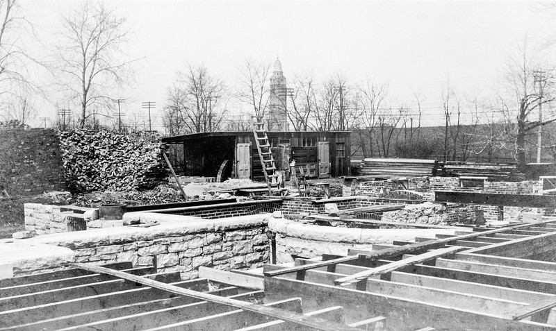 Magic Chef Mansion Construction 1908