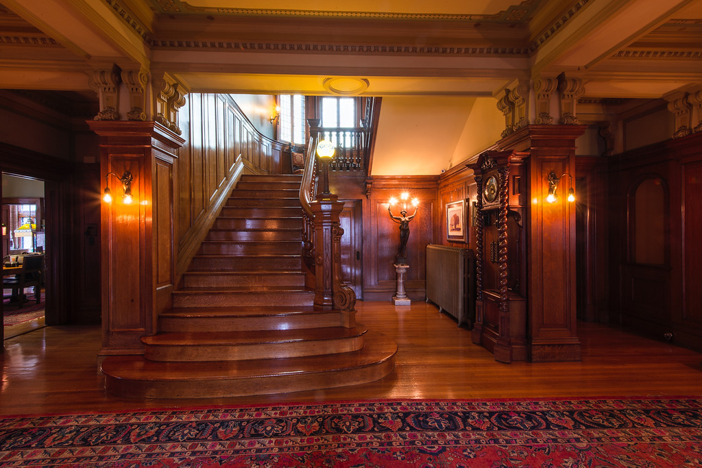 Magic Chef Mansion Foyer and Main Staircase