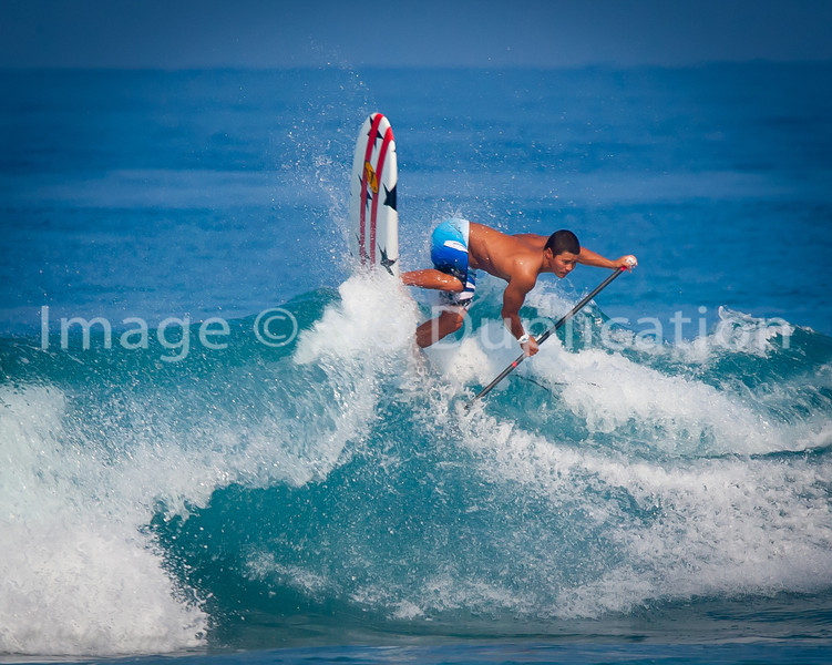 #3 Paddleboard surfer in the world... private photo shoot Jan 2012