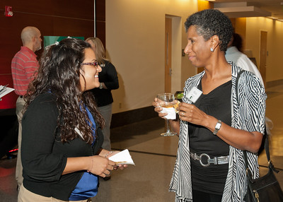 Kanchi '15 and Alicia Monroe (Vice Dean of Educational Affairs)