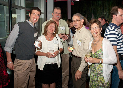 The Reed family '81 and Randie and Steve Specter (Associate Dean Student Affairs)