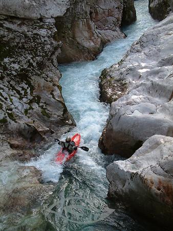 Kayaking Course Slovenia