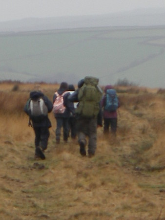 Dulverton 2nd practise walk