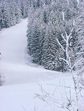 Skiing Borovets, Bulgaria