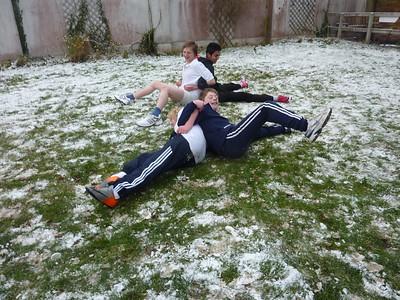 Snow Fun PE Lesson