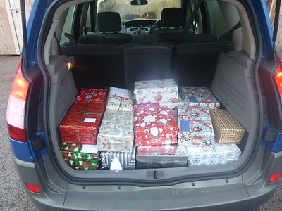 Christmas Box for families in Moldova apeal