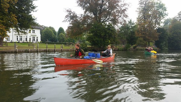 Silver DofE Expedition River Thames