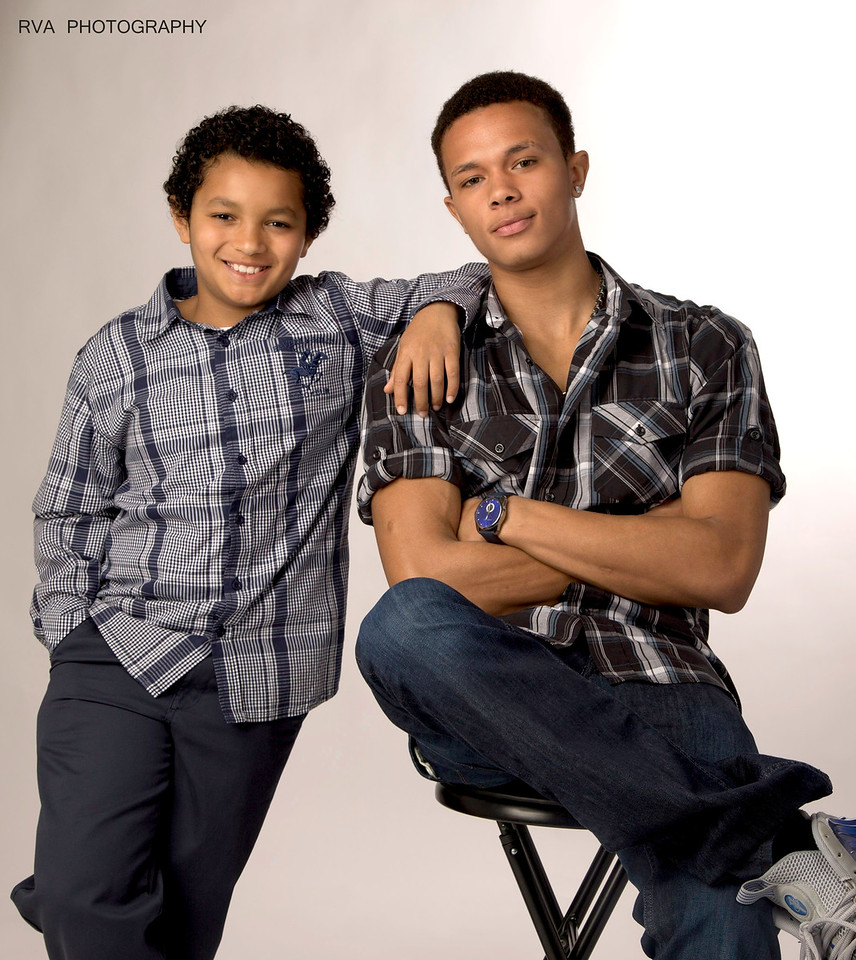 Noah and Tyrone, Jr.