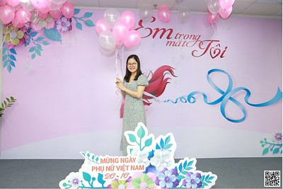 MCredit Head Office | Vietnam Women's Day 20/10 instant print photo booth in Ha Noi | Chụp ảnh in hình lấy ngay Phụ nữ Việt Nam 20/10 | Photobooth Hanoi