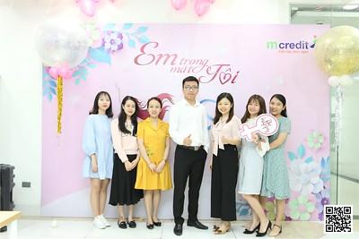 MCredit Hanoi - Trang An Complex | Vietnam Women's Day 20/10 instant print photo booth in Ha Noi | Chụp ảnh in hình lấy ngay Phụ nữ Việt Nam 20/10 | Photobooth Hanoi