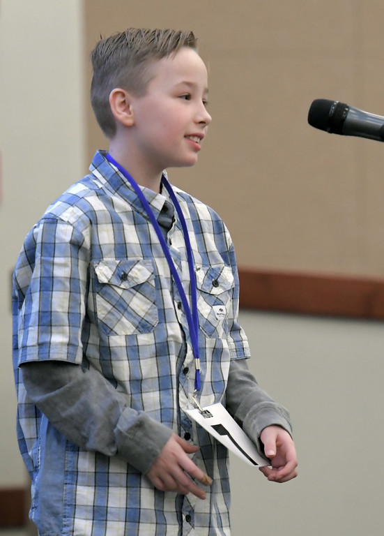. 2018 Macomb Regional Spelling Bee. MACOMB DAILY PHOTO BY DAVID DALTON