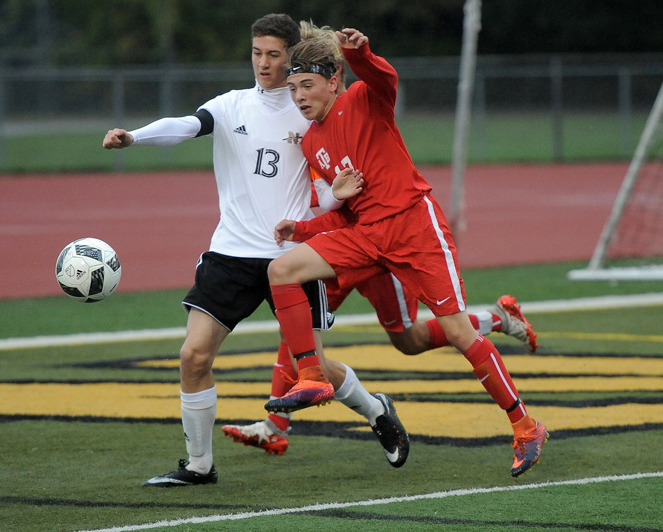 . Anchor Bay vs L�Anse Creuse North on October 11, 2017. THE MACOMB DAILY PHOTO GALLERY BY DAVID DALTON
