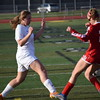 Anchor Bay beat L'Anse Creuse North, 2-1, in a MAC crossover soccer match. (MIPrepZone photo gallery by Chuck Pleiness)