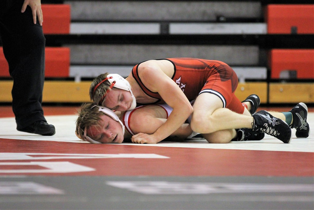. Anchor Bay hosted Chippewa Valley, Eisenhower and Fraser for a quad on December 6, 2017. THE MACOMB DAILY PHOTO GALLERY BY GEORGE SPITERI.