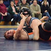 Richmond defeated Armada 67-4 in a BWAC dual meet on Jan. 25, 2017. The victory gave the Blue Devils a final record of 7-0 in league matches. (MIPrepZone photo gallery by George Pohly)