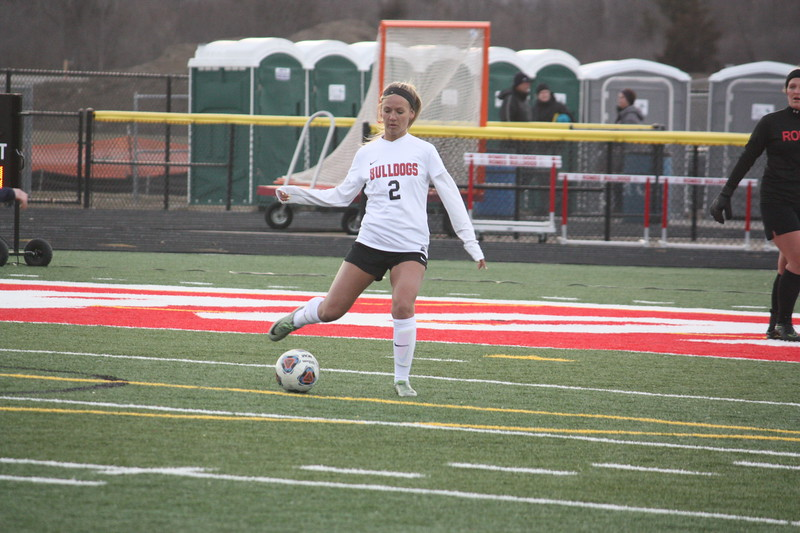 Romeo defeated visiting Berkley 1-0 in a non-league soccer match on April 10, 2018. (Photo gallery by Kevin Lozon)