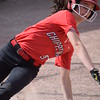 Chippewa Valley's Vanessa Twomey slides safely in at home. (MIPrepZone photo gallery by Chuck Pleiness)