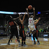 Cousino falls to Flushing, 52-36, in a Class A girls basketball state semifinal at the Breslin Center on the campus of Michigan State University on Friday. The Patriots were looking to become the first girls or boys basketball team from Macomb County to appear in two straight title games. (MIPrepZone photo gallery by David Dalton)