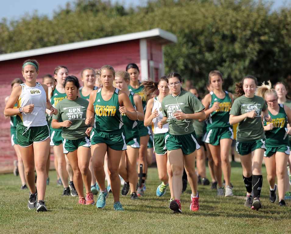 . Cross country Red Division Jamboree at Westview Orchards in Romeo on September 12, 2017. THE MACOMB DAILY PHOTO GALLERY BY DAVID DALTON