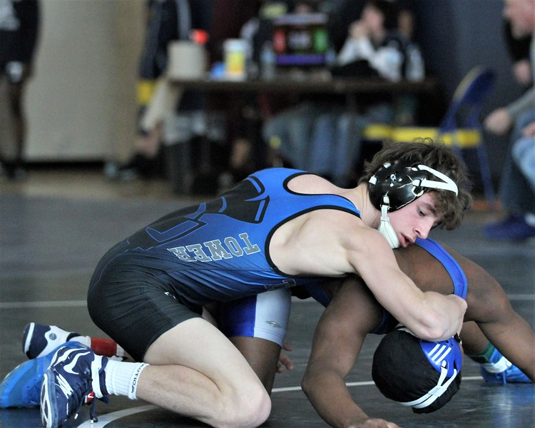 At the 125 weight class, Chaise Mayer of Warren Woods-Tower advanced to the finals. The Division 2 individual wrestling districts were hosted at Fitzgerald on February 10, 2018. THE MACOMB DAILY PHOTO GALLERY BY GEORGE SPITERI Division 2 individual wrestling districts were hosted at Fitzgerald on February 10, 2018. THE MACOMB DAILY PHOTO GALLERY BY GEORGE SPITERI