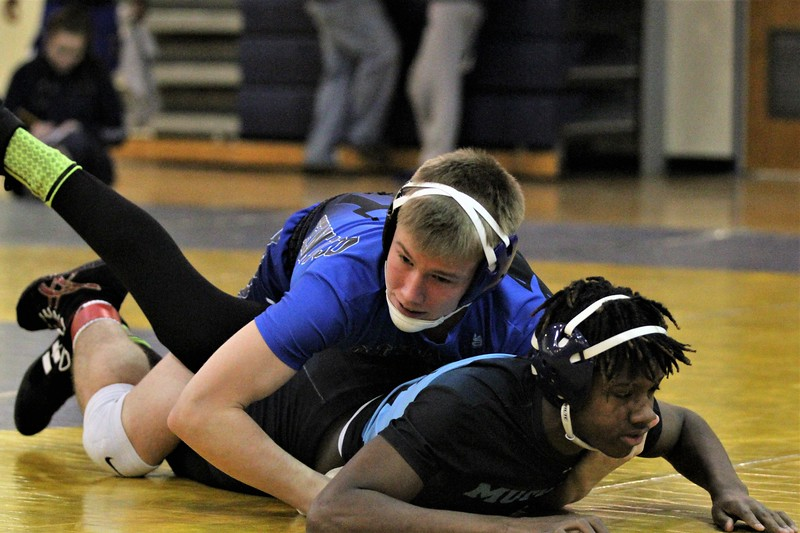 The Division 2 individual wrestling districts were hosted at Fitzgerald on February 10, 2018. THE MACOMB DAILY PHOTO GALLERY BY GEORGE SPITERI