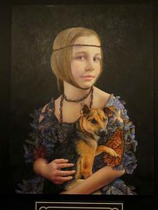 """""""Villa's Universe"""" by Margaret Munz-Losch, February 24, 2018"""