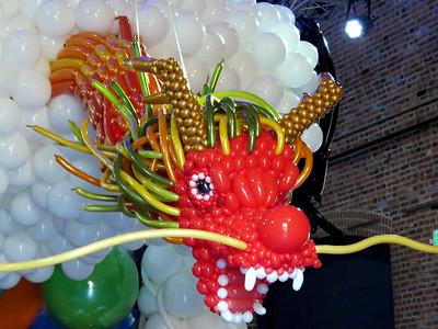 balloon dragon by HongSeok Ko, November 25, 2017