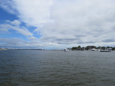 view of the bay from the Annapolis waterfront