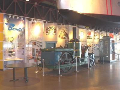 steam roller, Baltimore Museum of Industry, September 2015