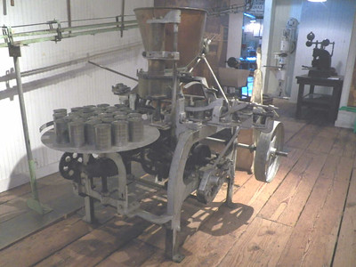 canning equipment, Baltimore Museum of Industry, September 2015