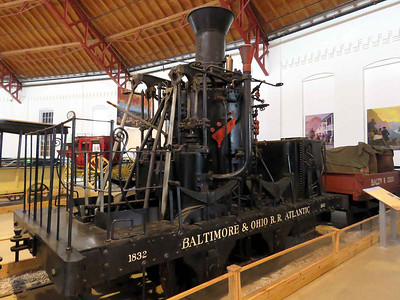 """Atlantic"", 1830s grasshopper steam engine February 25, 2018"