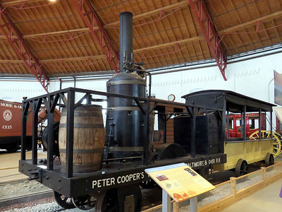 """""""Tom Thumb"""", the first American-built steam engine, built in 1827 February 25, 2018"""
