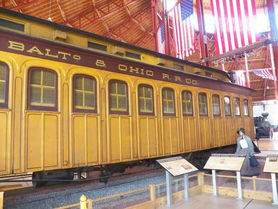 1860s passenger coach