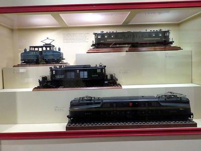 model trains, February 25, 2018