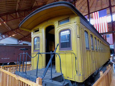 No 21 passenger car, built in 1868 February 25, 2018