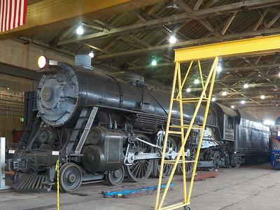 """""""President Washington"""" steam engine, 1927"""