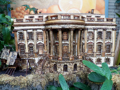 White House model, US Botanic Garden