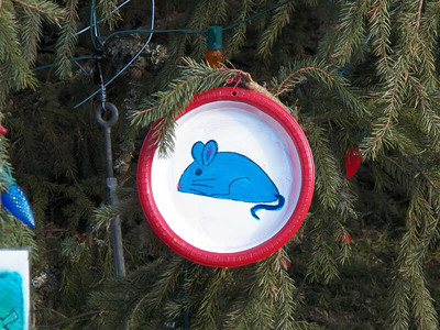 ornament on Capitol Christmas Tree
