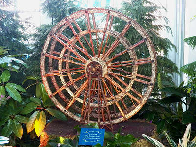 model of the Ferris Wheel from the 1893 Chicago World Columbian Exposition, US Botanic Garden