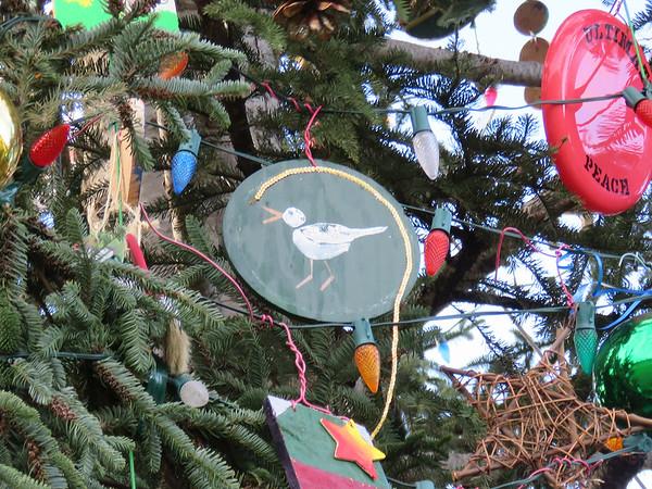 bird ornament on the 2018 US Capitol Christmas tree